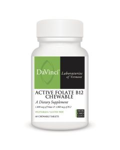 ACTIVE FOLATE B12 CHEWABLE (60)